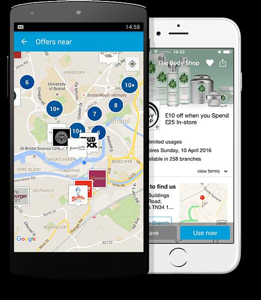vouchercloud app   Mobile voucher app   Money-saving app
