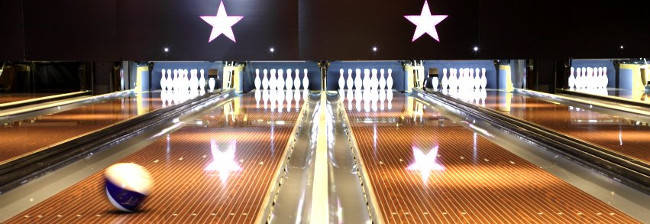 AMF Bowling lanes