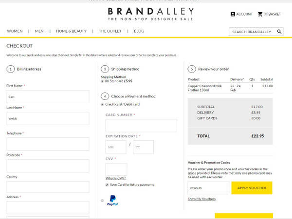be49ed4c3848 15 Off → BrandAlley Discount Codes for July 2019