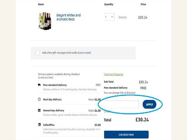How to use ALDI vouchers
