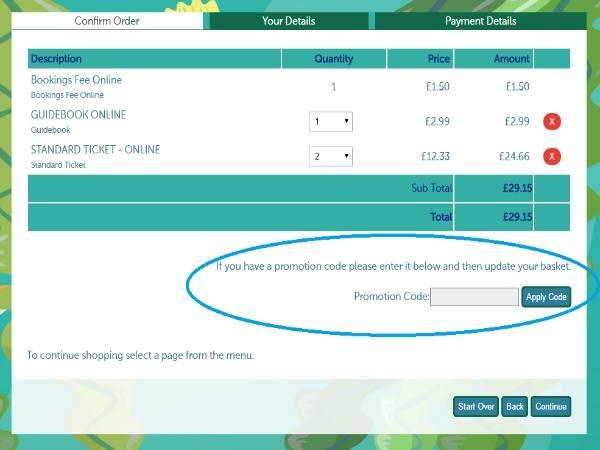 How to use Bristol Aquarium voucher