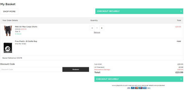 87e3bbf8b9d JD Sports Discount Codes   Vouchers → April 2019