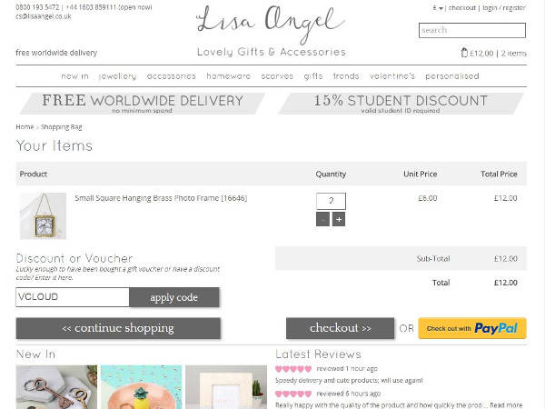 Lisa Angel promo codes