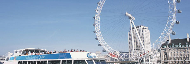 London Eye voucher banner