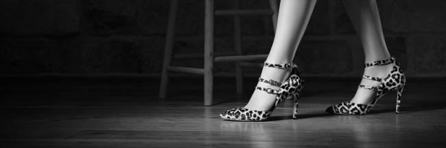 Moda in Pelle heels