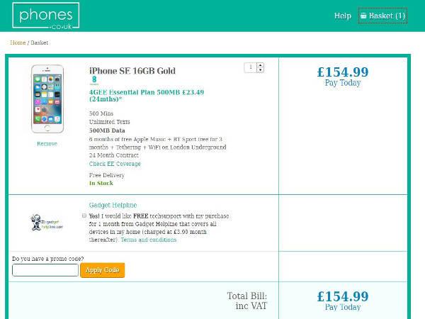 Phones co uk promo code
