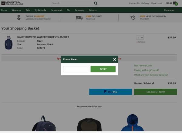 20 Off Mountain Warehouse Discount Codes For January 2019
