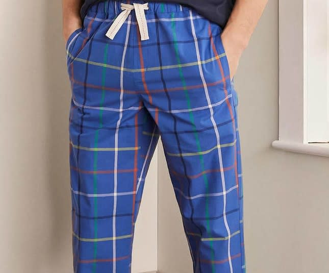 Boden Cotton Poplin Pyjama Bottoms