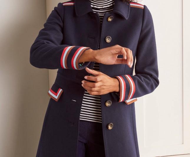 Boden Middleham Trim Coat