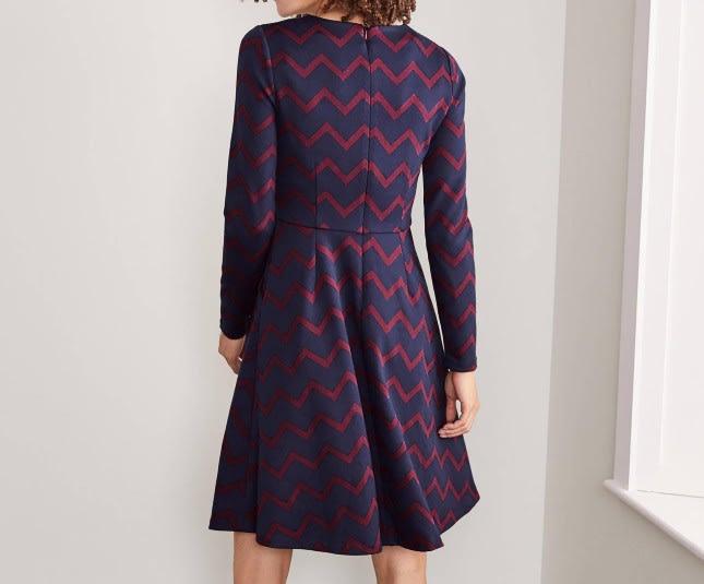 Boden Annie Jacquard Dress