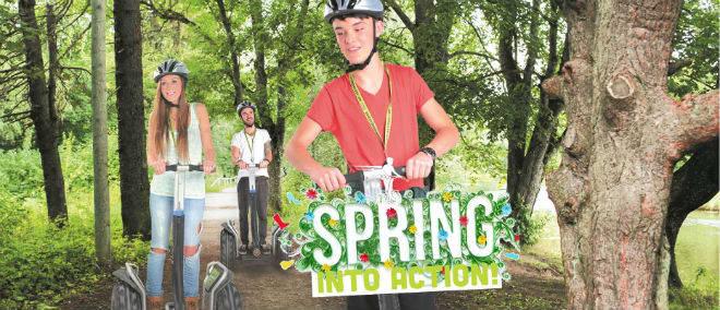 Adventure Segway Spring into Action