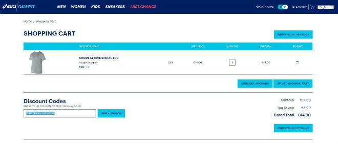 limited sale enjoy bottom price complete range of articles Asics Outlet Discount Codes & Vouchers → November 2019