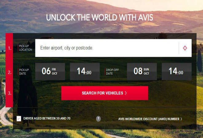 avis discount codes europe 2019