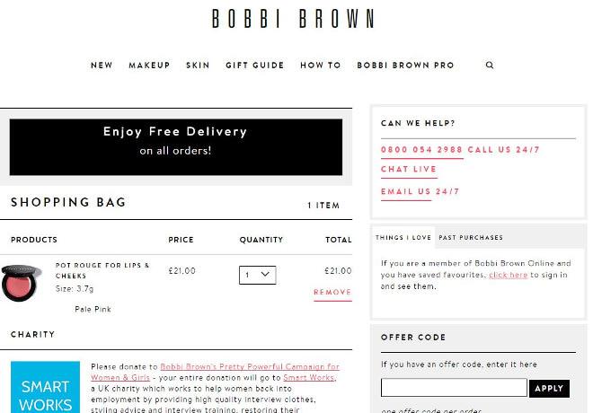 Bobbi Brown offer code