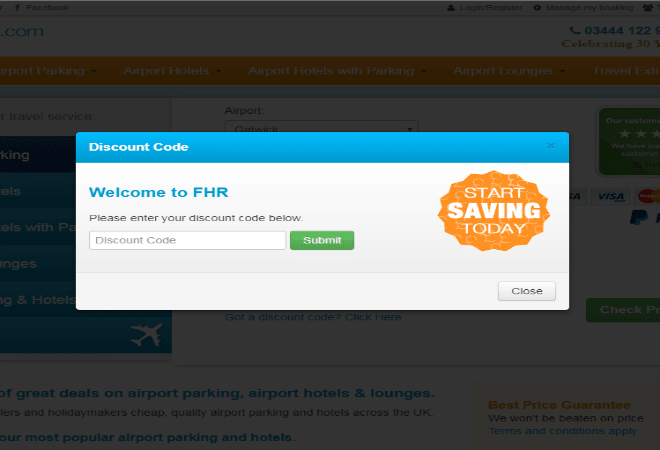 Up to 20 off fhr parking discount codes for october 2018 how do i use my book fhr discount code browse vouchercloud for the latest airport parking m4hsunfo