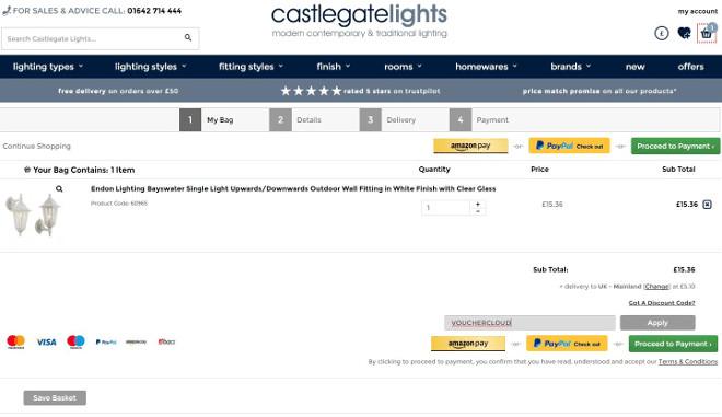 Castlegate Lights vouchers