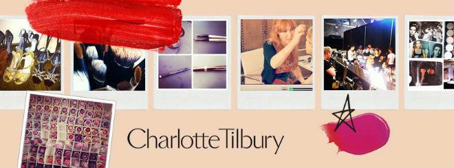 Charlotte Tilbury polaroids