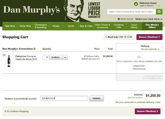 Dan Murphy's Voucher