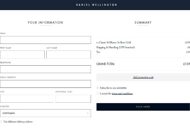 daniel wellington deals