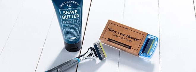 Dollar Shave Club kit