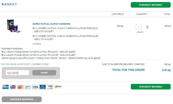 Durex Offers