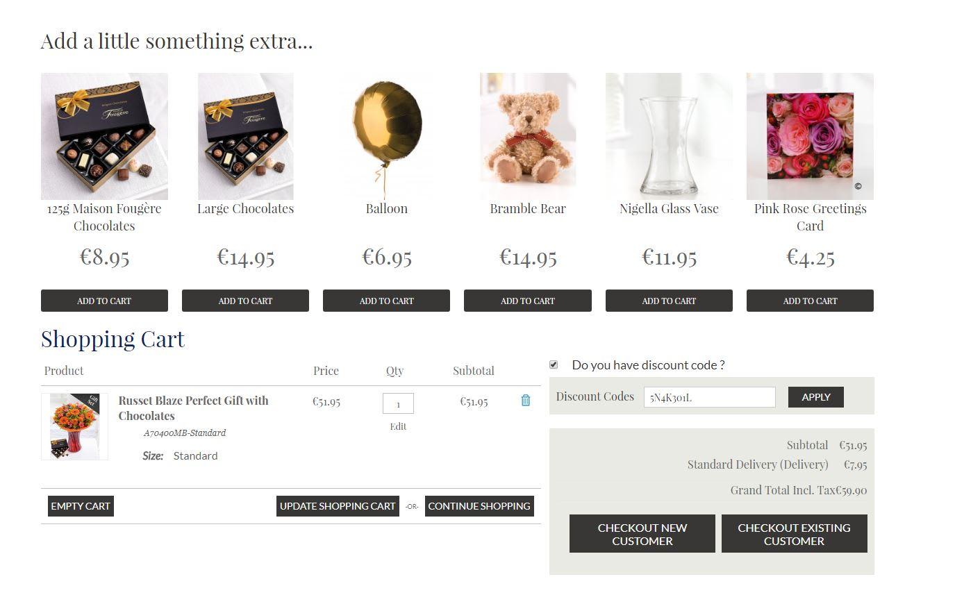 Flowers Discount Codes Voucher Codes November 2018