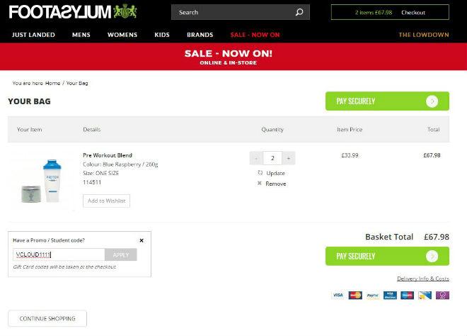187be7146c 10% Off → Footasylum Discount Codes for June 2019