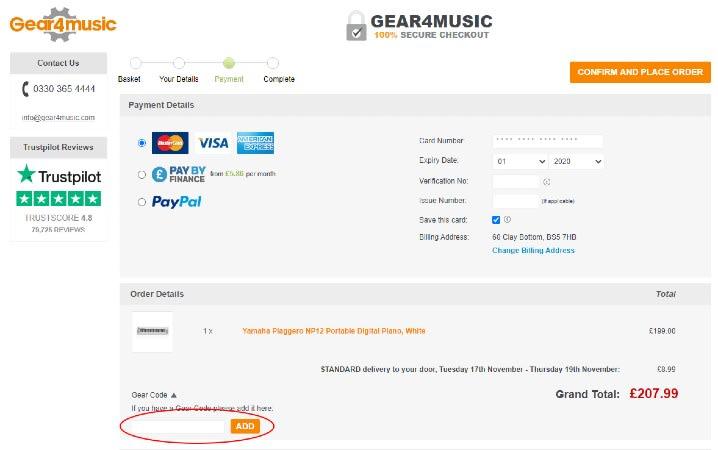 Gear4Music Discount Code