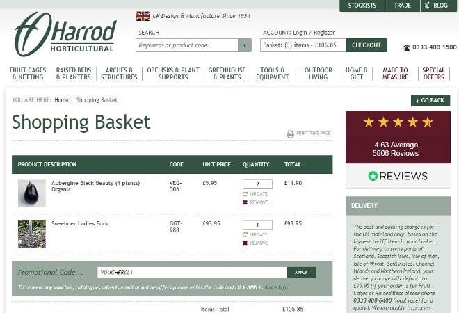 Harrod Horticultural discount