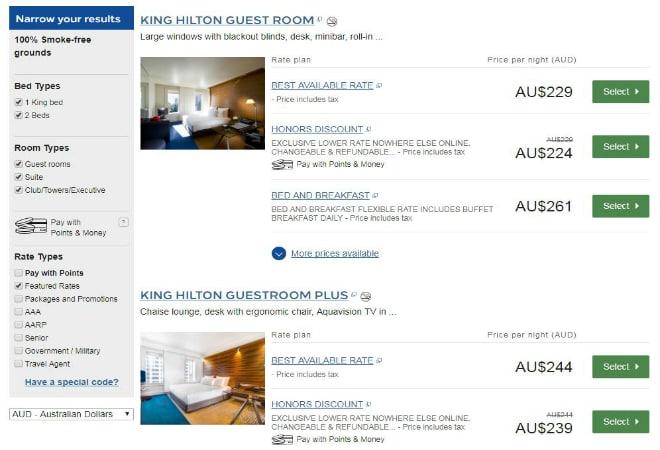 Hilton Hotels Basket