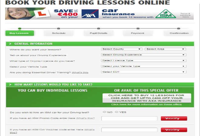 Irish school of motoring promo code
