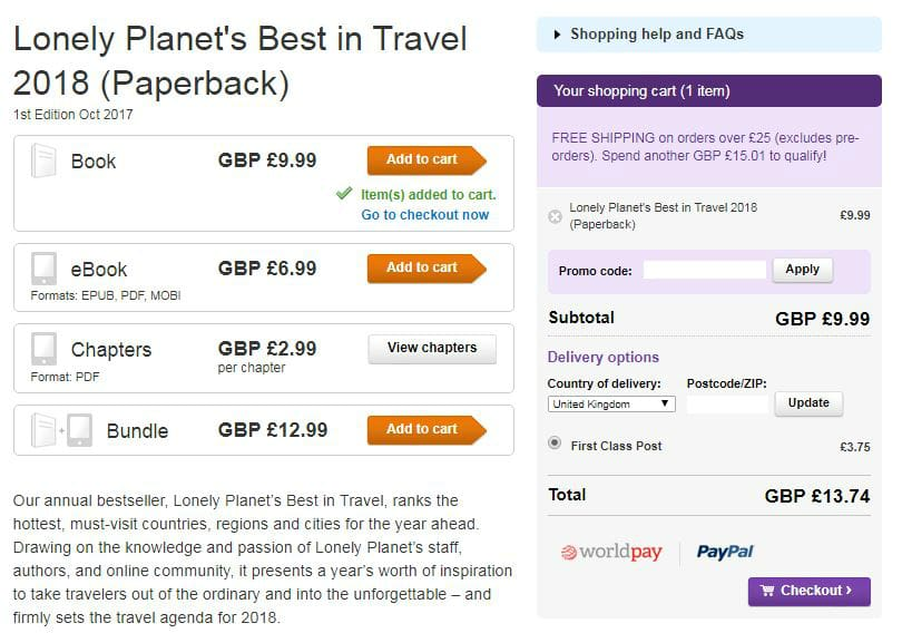 Lonely planet promo codes discount codes august 2018 how do i use my lonely planet promo code fandeluxe Choice Image