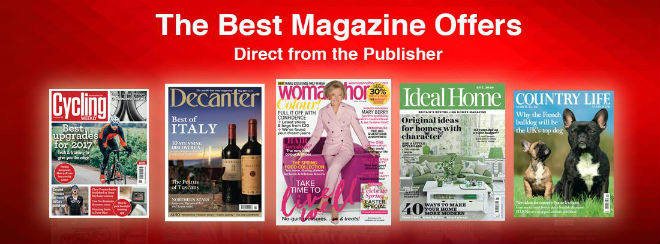 Magazines Direct banner