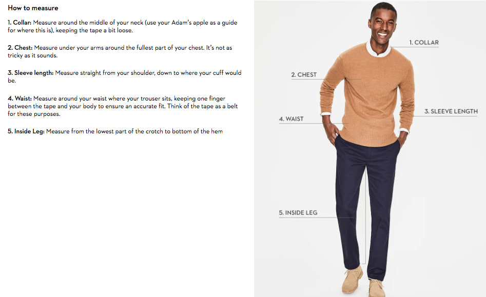 Mens how to measure boden