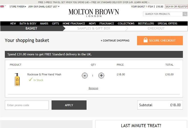 Molton Brown discounts