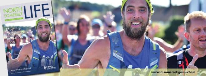 North Somerset marathon runner