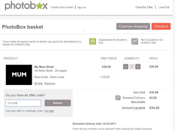 photobox discount codes voucher codes january 2019