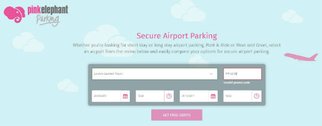 Pink elephant parking promo codes november 2018 how do i use my pink elephant promo code m4hsunfo