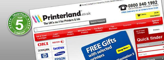 Printerland logo