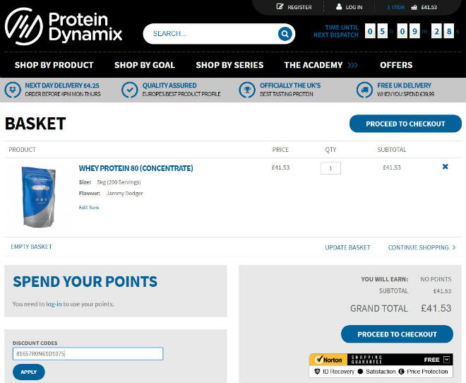 Protein Dynamix Voucher Code
