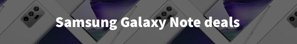 Samsung Galaxy note deals