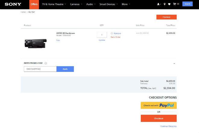 Sony Discount Code