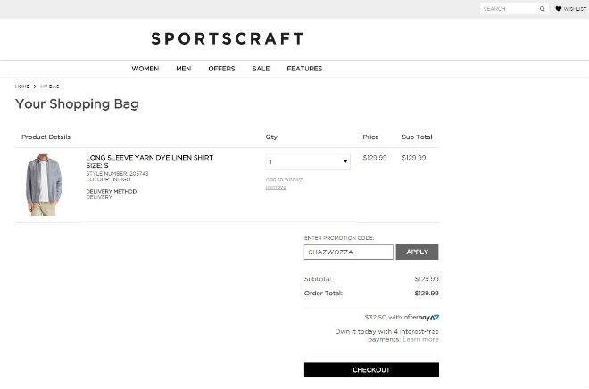 Sportscraft Discount Code