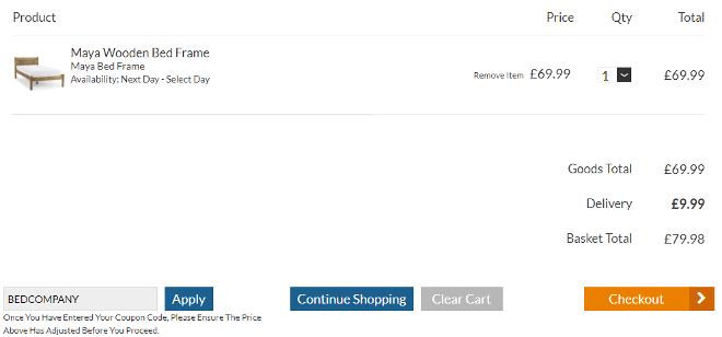 bedstore discount code