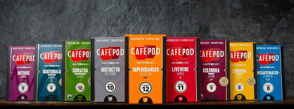 CaféPod voucher codes