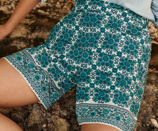 Boden Georgina Linen Shorts