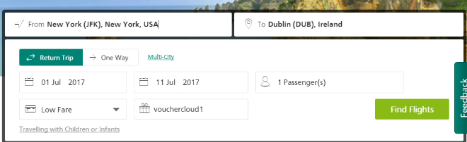 Aer Lingus Promo Codes and Discount Codes → August 2019