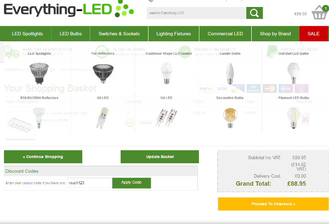 Everything-LED discount code