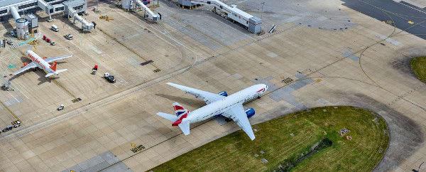 gatwick airport aerial