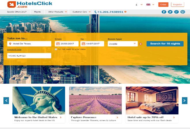 HotelsClick discount codes
